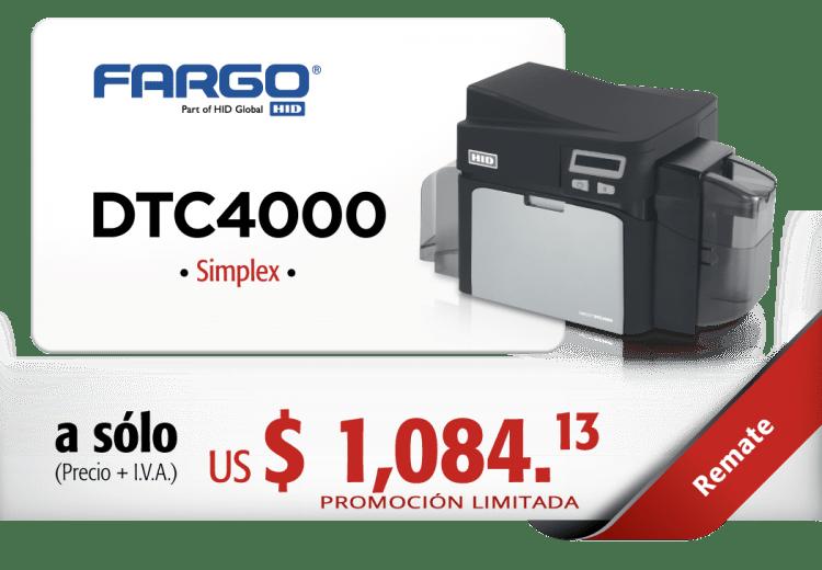 REMATE-FARGO-DTC4000-SIMPLEX