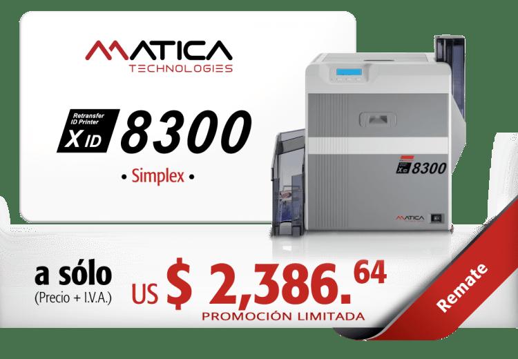REMATE-MATICA-XID8300-SIMPLEX