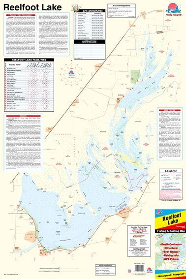 High Rock Lake Map : North, Carolina, Fishing, Spots