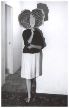 De la serie Máscaras de Saul Steinberg de Inge Morath