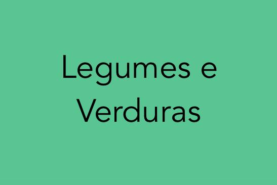 Identificação de Plantas - Legumes e Verduras