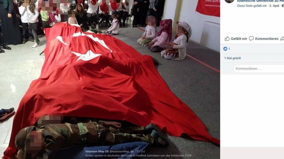 Billedet fra DITIB moske i Tyskland