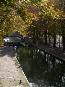 Canal Saint-Martin, Paris, France