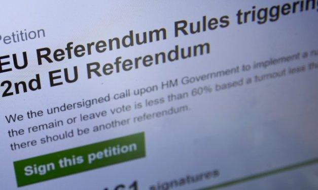 Brexit : Des musulmans trichent et gonflent le nombre des signataires d'une pétition !