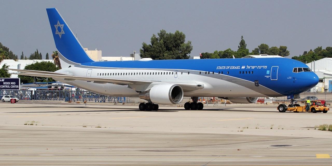 Premier vol d'essai pour le Air Force One israélien, made in Israel