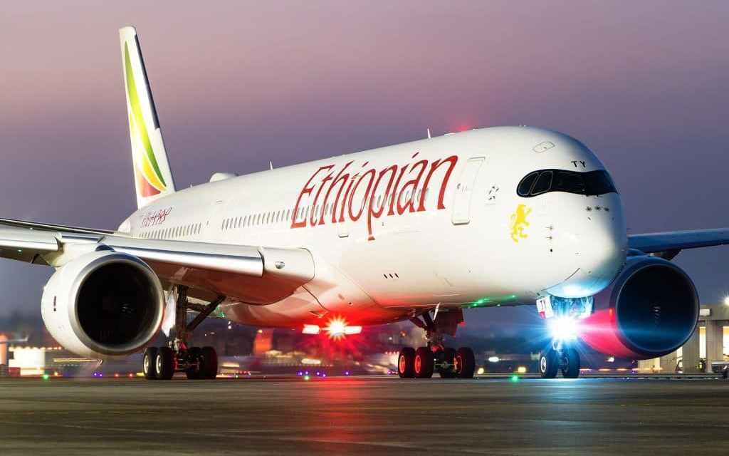 Ethiopian Airlines baptise son nouvel avion Dreamliner 787-9  au nom de «Tel Aviv «
