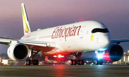 """Ethiopian Airlines baptise son nouvel avion Dreamliner 787-9 au nom de """"Tel Aviv """""""