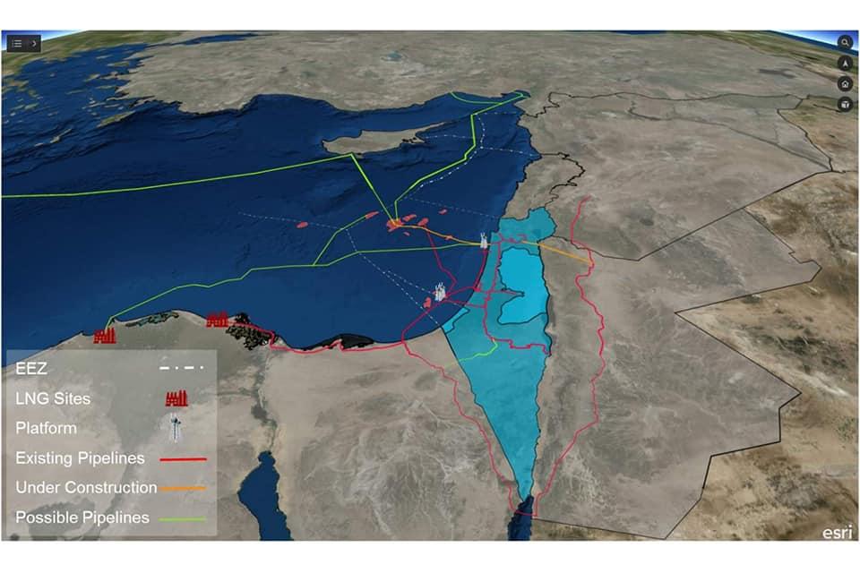Israël commence  les exportations du gaz vers l'Egypte dès le 1er janvier 2020