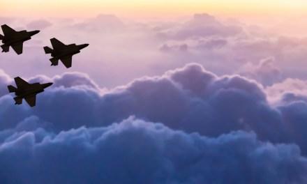 Israeli Air Force survole les frontières irako-iraniennes