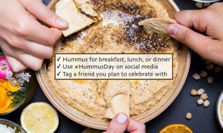 La Journée mondiale du Houmous tombe le 13 mai de chaque année, une obsession nationale en Israël.