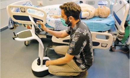 Des robots israéliens au front durant l'épidémie de COVID-19