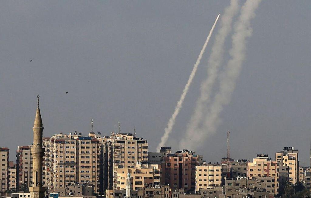 Tirs de roquettes palestiniennes lancés depuis la bande de Gaza sur Jérusalem