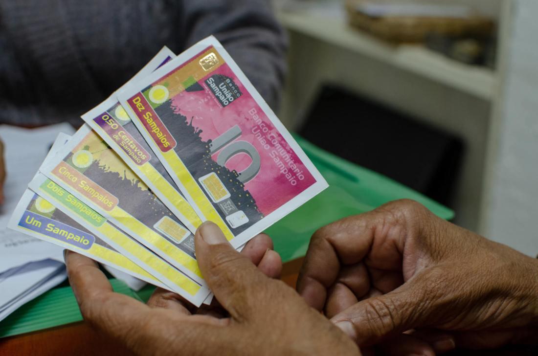 The Sampaio currency. Image credit: Sarita Reed