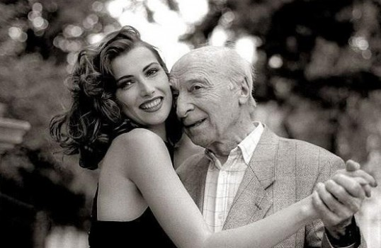young lady dating old man