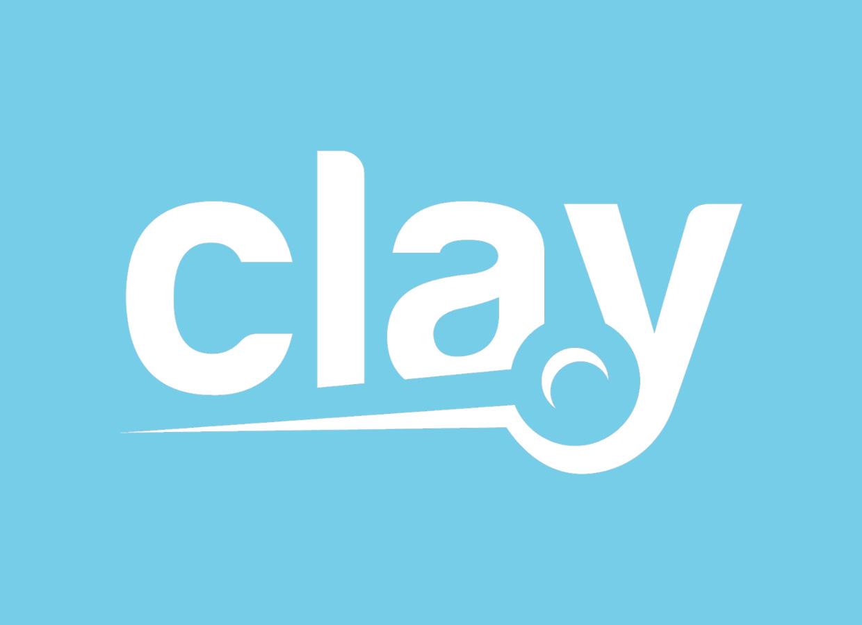 Clay sourcing Logo graphic design
