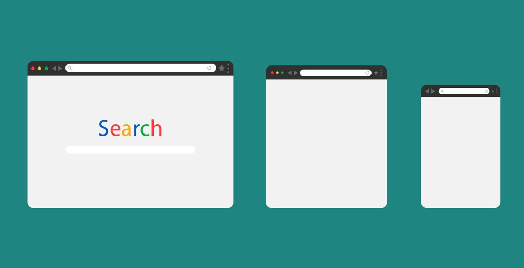 Different Google search sizes