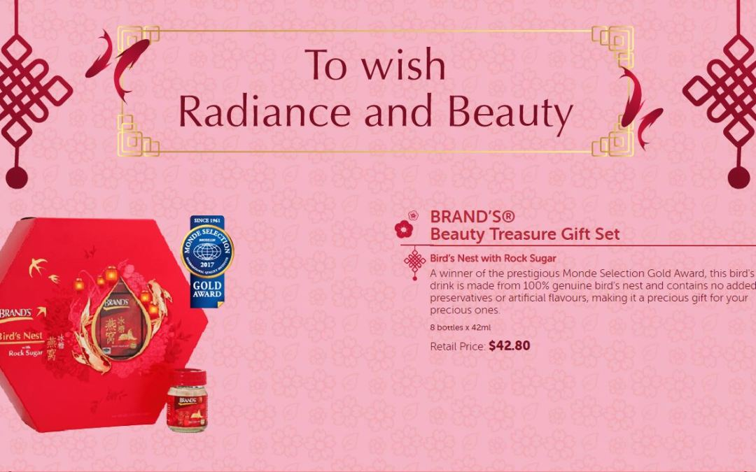 brands Chinese New Year Gift packs
