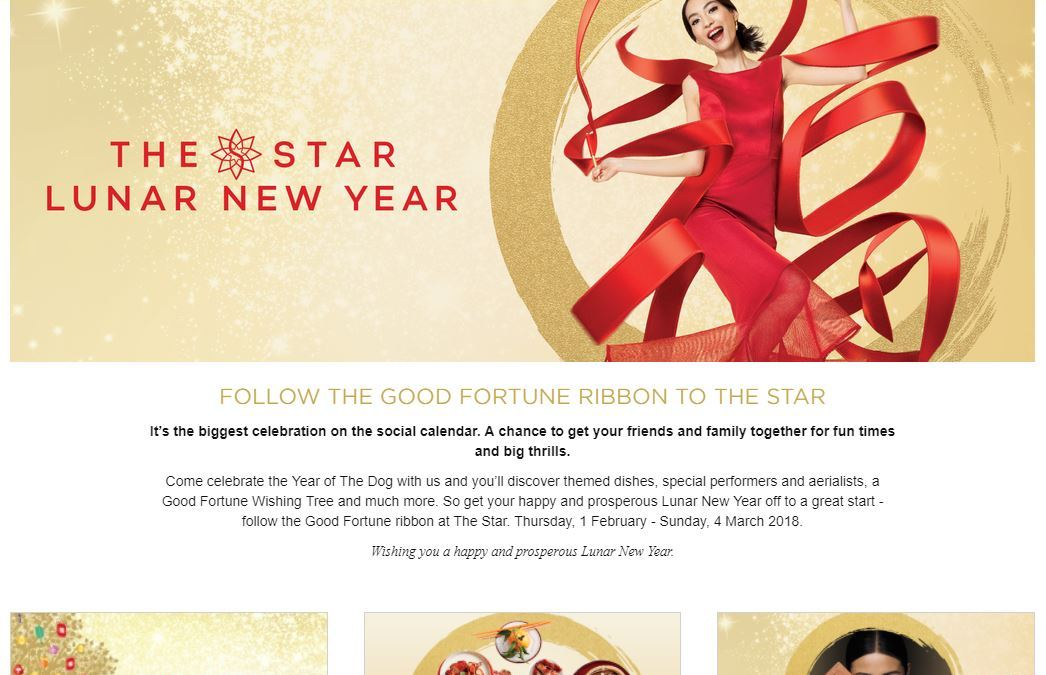 Cashing in on Chinese New Year