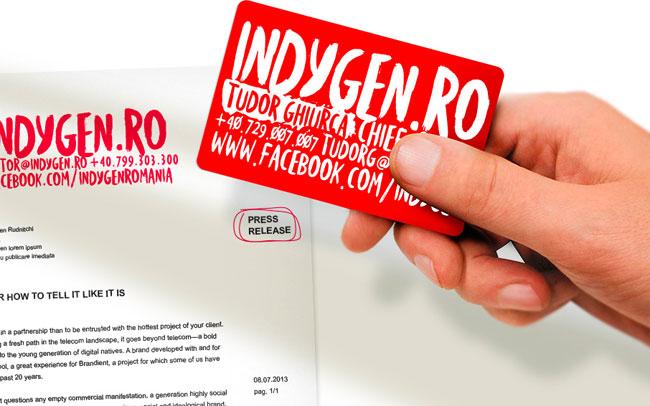 Indygen identity design