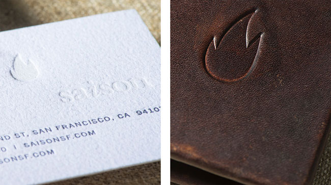 Saison brand identity design