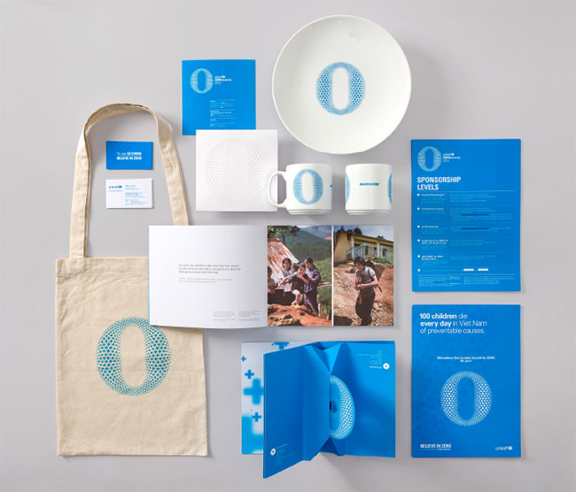 UNICEF ZEROawards identity