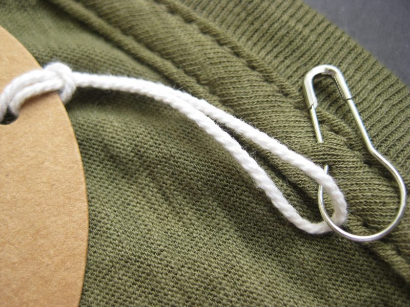 White String with Pin