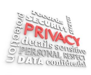 Privacy Security Sensitive Information Secrets 3d Illustration