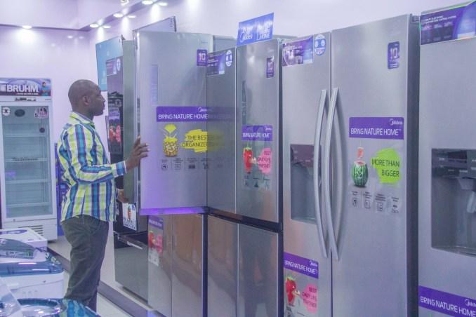 midea refrigerator price in nigeria