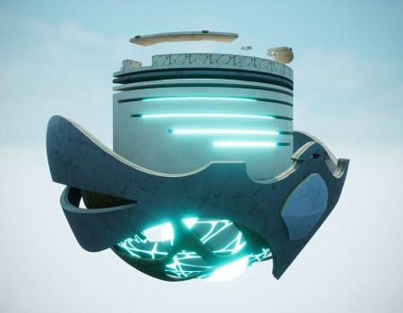 """Escenarios y entornos 3D videojuego """"GTW"""""""