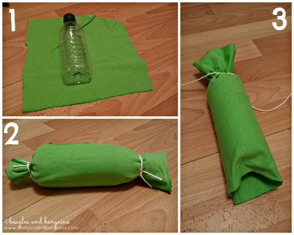mainan untuk anjing dibuat dari botol plastik - IDEPROPERTI.COM