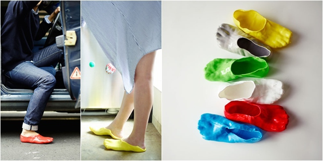 slipper from bottle sendal dari botol plastik - IDEPROPERTI.COM