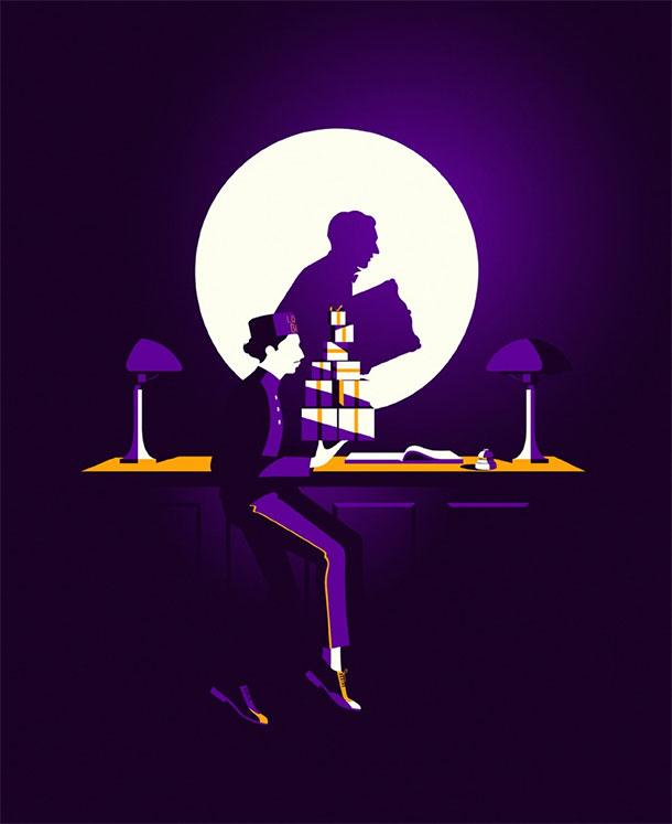 Psikologi warna ungu