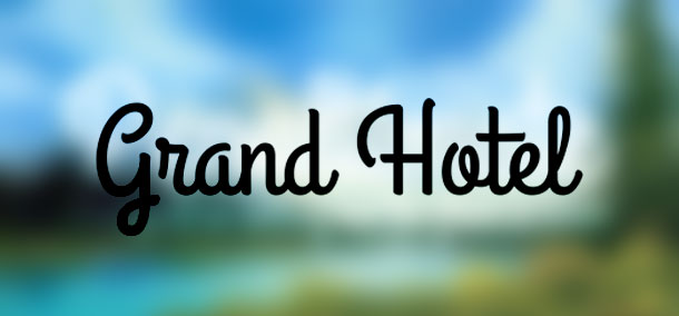 font-cursive-grandhotel