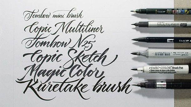brush pen