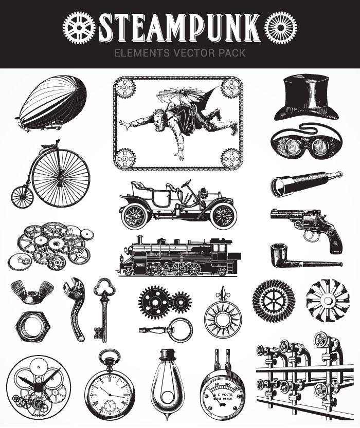 steampunk freebie