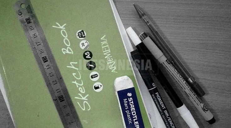 Alat untuk Hand Lettering