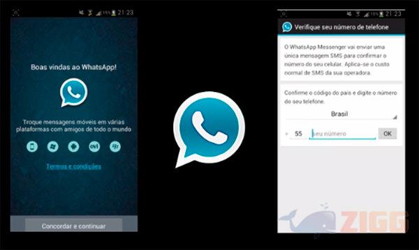 Estas imágenes corresponden a una prueba de WhatsApp Plus en un móvil Android.