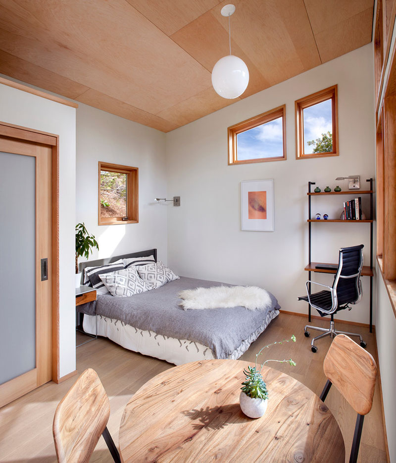 Garage Conversion To Bedroom And Bathroom High-quality Sustainable Prefab Backyard Tiny House