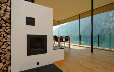 modern lake switzerland decorating interior architecture walensee architect idesignarch architektur