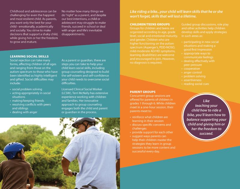 Social Skills Training Brochure Idesign Communications