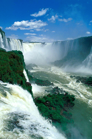 Iguazu Falls Brazil Wallpaper Nature Iphone Wallpaper Idesign Iphone