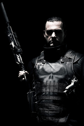 Anime Ipod Wallpapers Punisher Iphone Wallpaper Idesign Iphone
