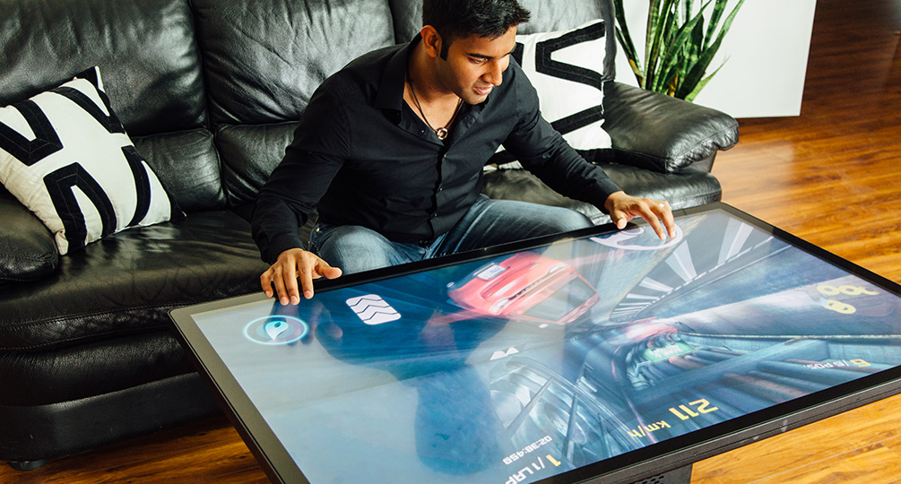 Worlds First 4K UHD Multitouch Coffee Table  Ideum