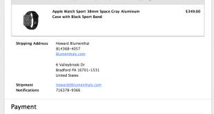 Apple receipt icloud unlock