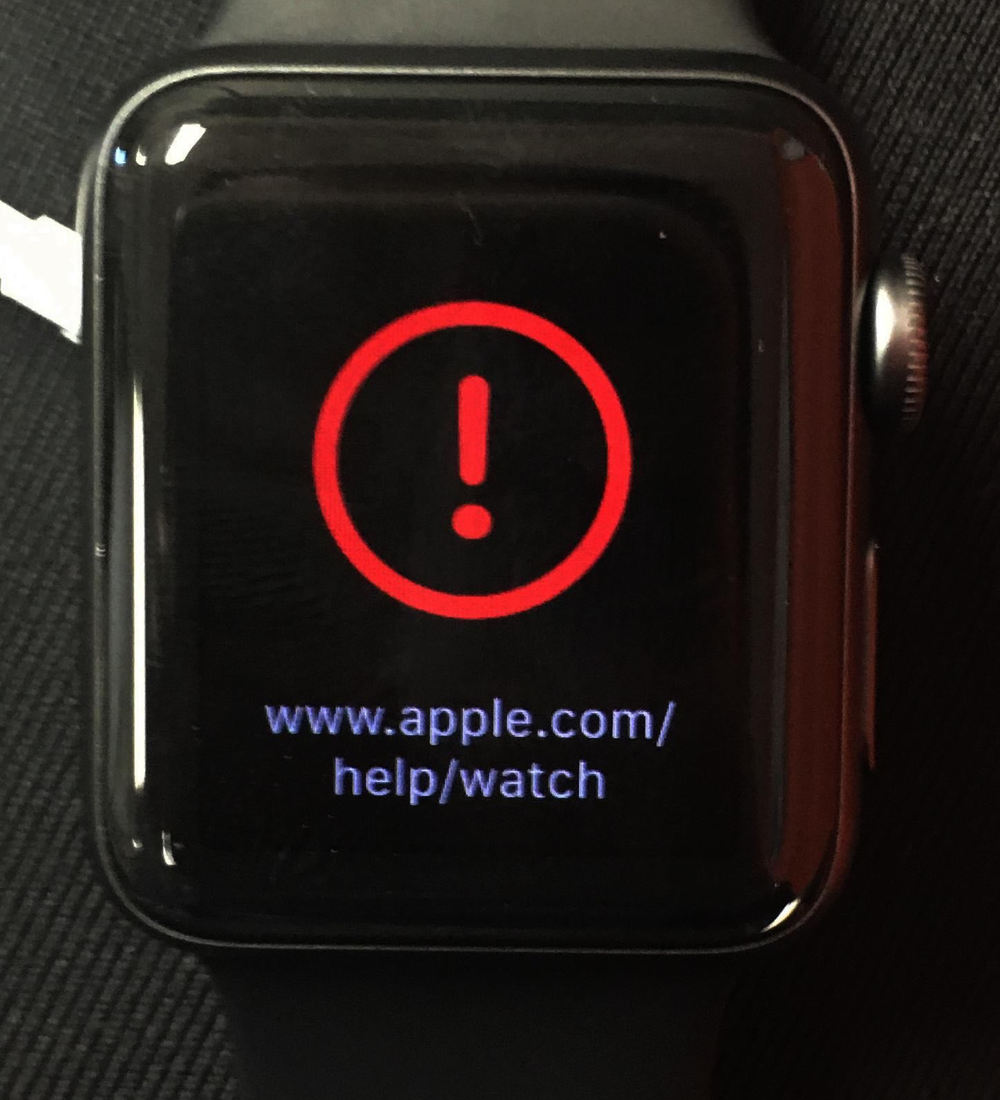 Apple watch bricked red exclamation solution activation lock remove tools icloud bypass