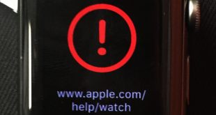 Apple Watch bricked Red Exclamation Solution