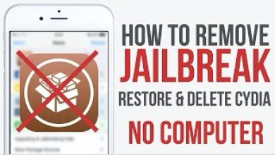 remove jailbreak with OSrestorex