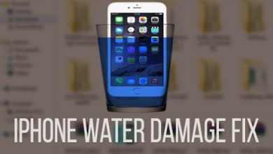 How fix water damaged iphone