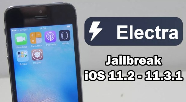 Jailbreak iOS 11.3.1 with ELECTRA