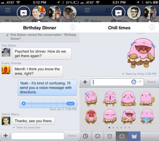 Cara Enable Facebook Chat Heads